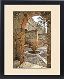 Framed Print of Europe, Spain, Balearic Islands, Mallorca, Palma de Mallorca, , door srchway
