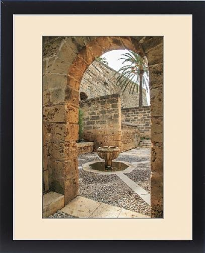 Framed Print of Europe, Spain, Balearic Islands, Mallorca, Palma de Mallorca, , door srchway by Fine Art Storehouse