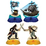 Beistle 50049 - Pirate Playmates Centerpieces- Pack of 12