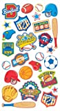 EK Success Brands Decorative Sticko Stickers, Sports Badges