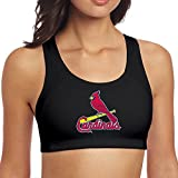 Hilal Trum Women's Cardinal Fitted Sports Support Bra Black