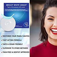 Amazon Com Bright White Smiles Teeth Whitening Accelerator Light 5x More Powerful Blue Led Light Whiten Teeth Faster Beauty