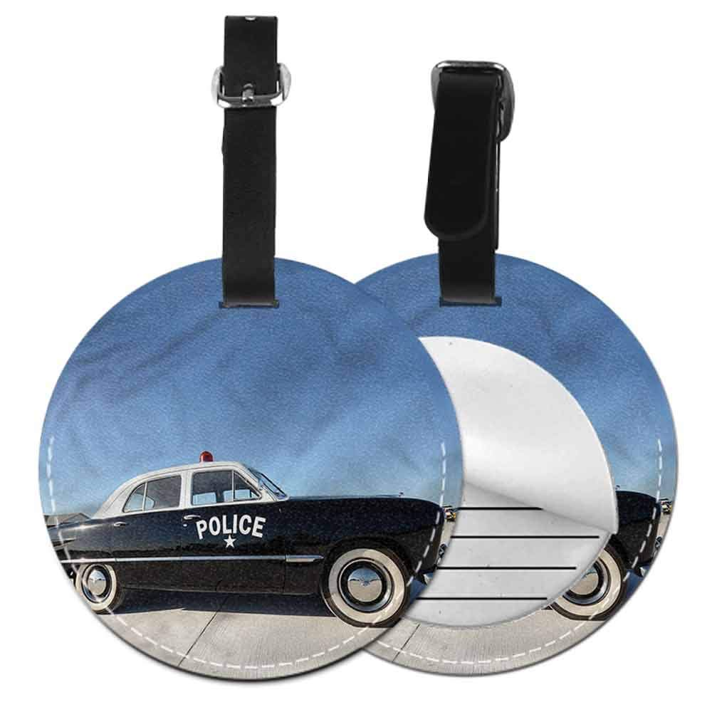 Round Luggage Tags American,Oregon State Flag Union Travel Luggage Label