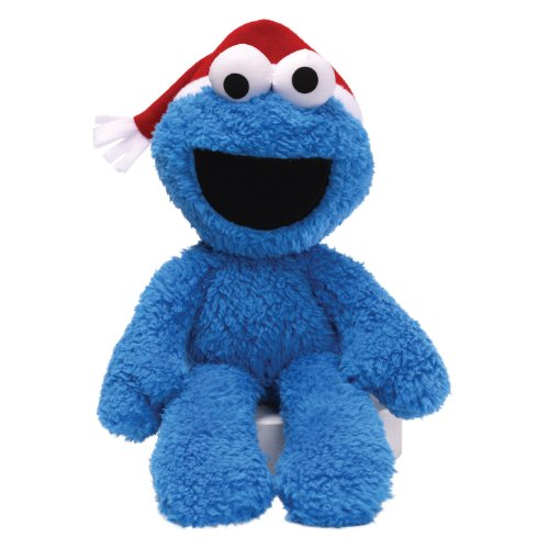 GUND Sesame Street Seasonal Cookie Take Along Buddy 12
