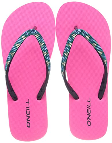 4091 O'neill Flip Strap Pink Pink Fw Donna Infradito Shocking Flops Printed 6aqZWR6S