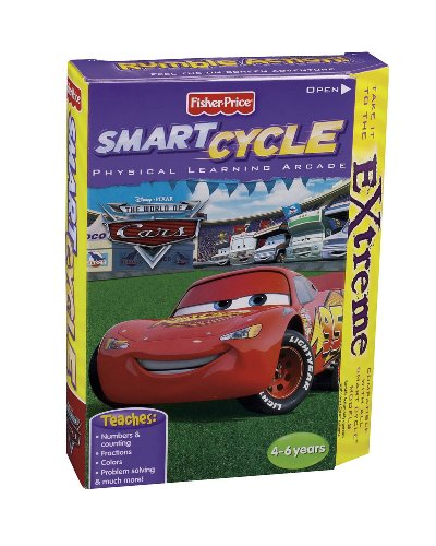 (Fisher-Price Smart Cycle Extreme [Old Version] The World of Cars Software Cartridge)