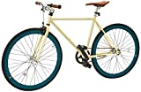 Retrospec Mini Mantra Fixie Bicycle with Sealed Bearing Hubs and Headlamp,...