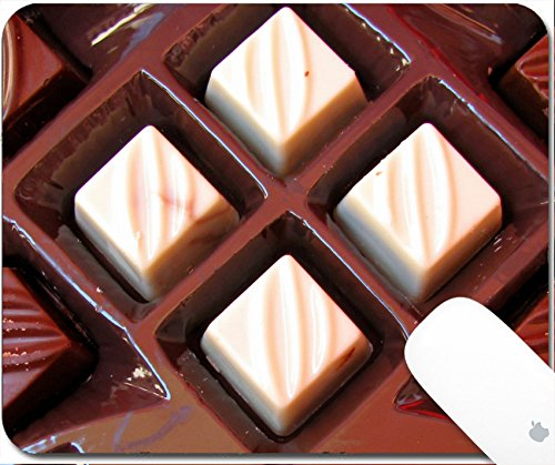 Luxlady Gaming Mousepad chocolates 9.25in X 7.25in IMAGE: 3414477