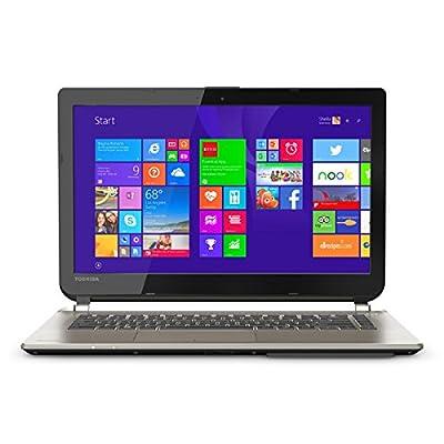 Toshiba Satellite E45-B4100 14-Inch Laptop (Intel Core i5-5200U Processor 1600MHz, 6GB DDR3L RAM, 750GB Hard Drive, Windows 8.1) Satin Gold