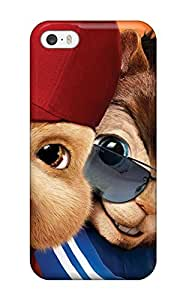 Cute Tpu Juliam Beisel Alvin And The Chipmunks Squeakquel Poster Case Cover For Iphone 5/5s