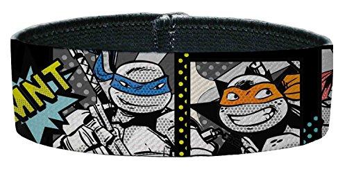 TMNT Cartoon TV Series Retro Comic Strip Portraits Plastic Bracelet (Ninja Turtles Sensei)