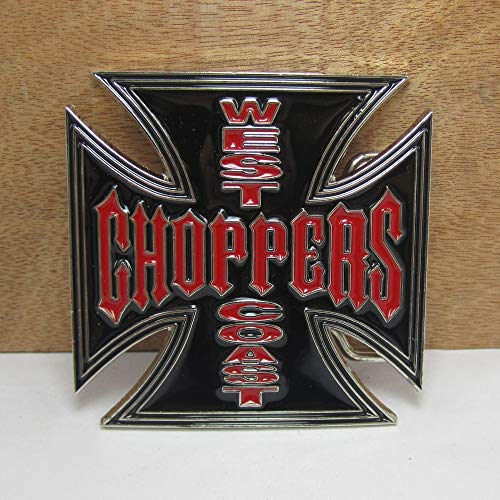 west coast choppers belt buckle - 1