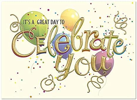 Amazon 25 Premium Employee Birthday Cards Celebrate You