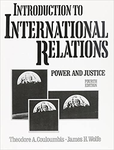 Amazon com: Introduction to International Relations (4th