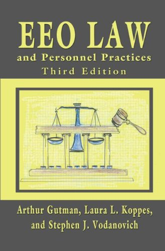 Eeo Law+Personnel Practices