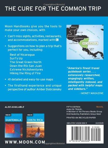 Moon Nicaragua Moon Handbooks Buy Online In Barbados At Barbados Desertcart Com Productid 1696790