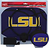 NCAA LSU Tigers Kids Slam Dunk Hoop Set, Purple, Small