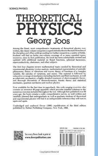 Theoretical Physics Joos Pdf