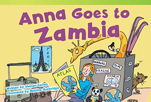 Anna Goes to Zambia (Fiction Readers)