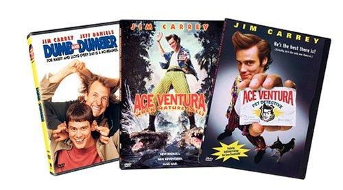 Jim Carrey 3-Pack (Dumb and Dumber / Ace Ventura Pet Detective / Ace Ventura When Nature Calls)