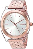 Nixon Women's 'Time Teller Acetate' Quartz Stainless Steel Casual Watch, Color:Rose Gold-Toned (Model: A3272628-00)
