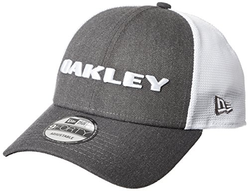 Oakley Men's Standard Heather New Era Hat, Graphite, One ()