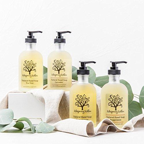 Lemongrass Liquid Hand Soap by Whispering Willow Soap