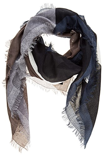 Fendi men's scarf kefiah mostri black