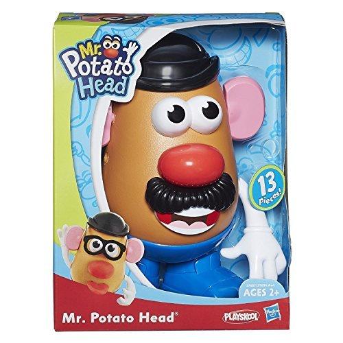 (Hasbro Playskool - Classic Mr Potato Head - 13 Accessories Included - Toy story)