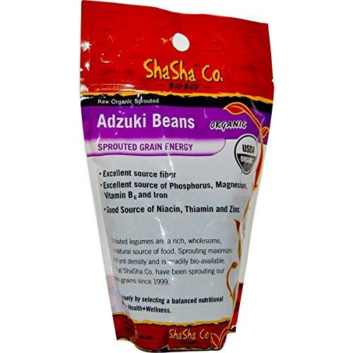 Shasha Bean Srouted Adzuki Organic 1 Lb (Pack Of 12) by Shasha