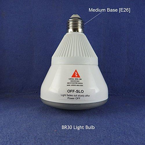 Solara 8 Light - OFF-SLO WARM WHITE LED (4000K) BR30 (3.75