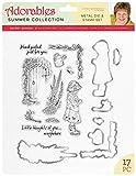Jayne Nestorenko Die and Stamp Sets - Secret Garden, Silver, one Size