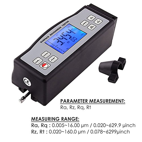 Rt Engineering Digital Meter : Srt digital surface roughness gauge tester meter with