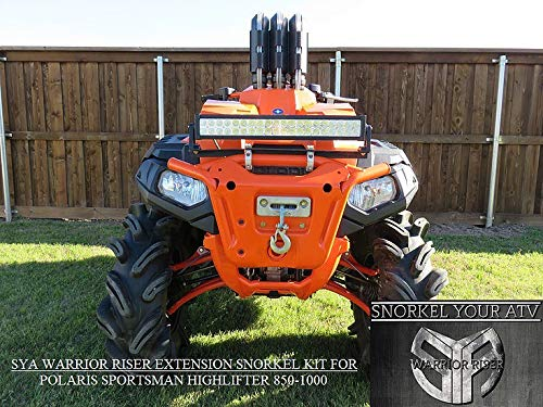 2015-2019 Polaris Sportsman 850/1000 High Lifter Edition Warrior Riser Extension kit Without LED Light by SYA
