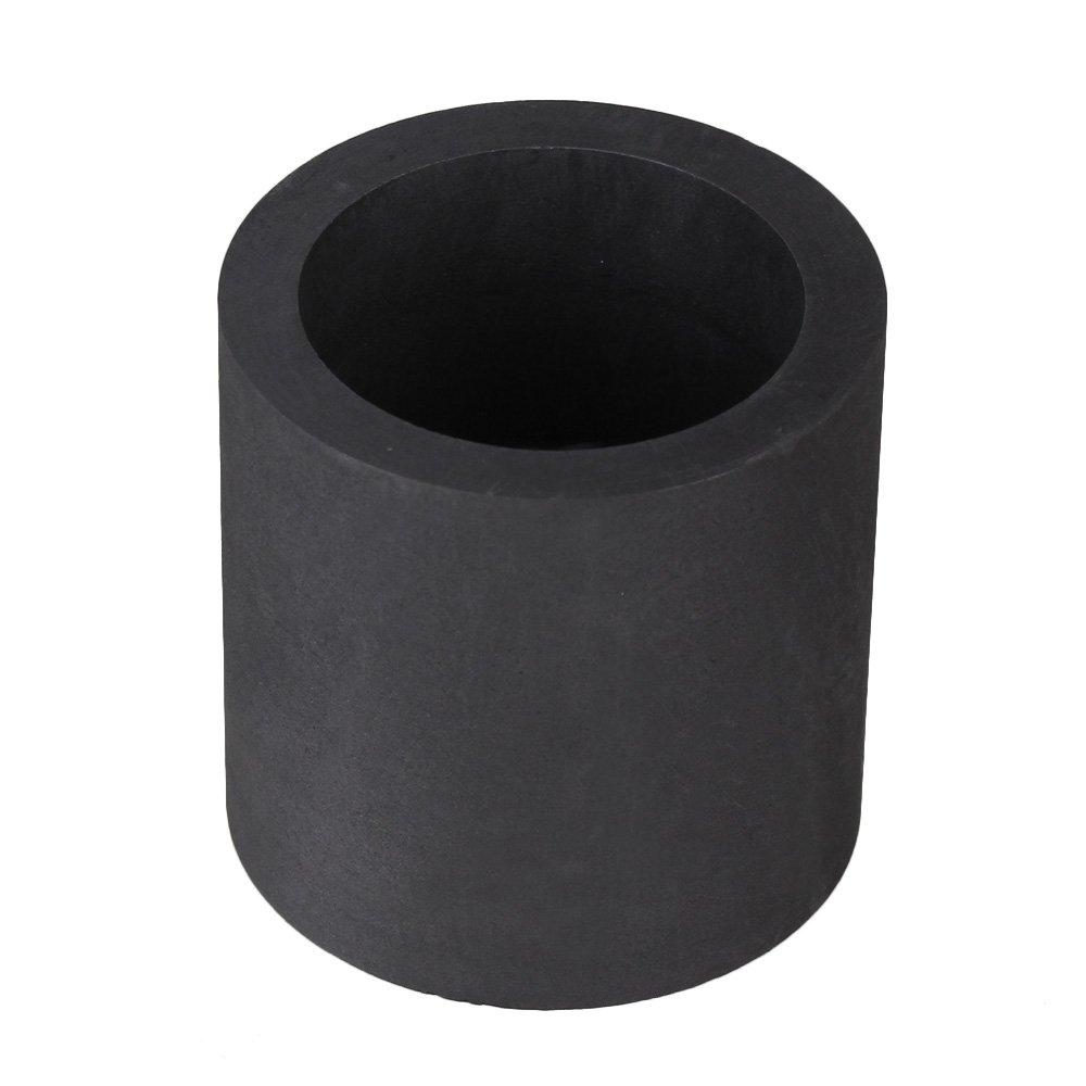 BQLZR 4x4cm Konservierungsschlagfestigkeit eine gute thermische Stabilitaet Hohe Reinheit Gaphite Crucible N00484