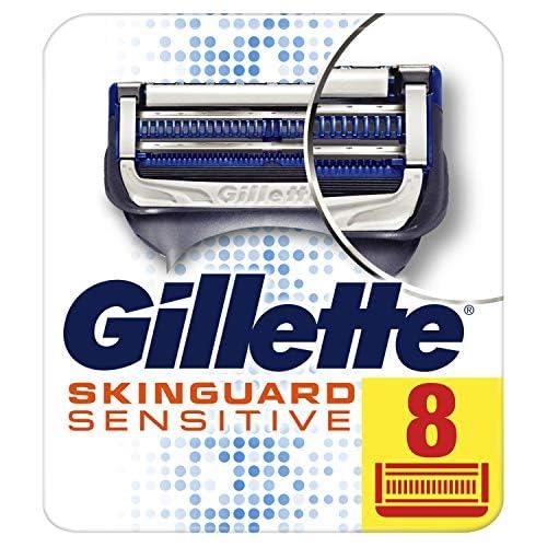chollos oferta descuentos barato Gillette SkinGuard Sensitive Maquinillas Para Hombre 8 Recambios