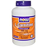 Now Foods L-Carnitine 500 mg - 180 Vcaps 6 Pack