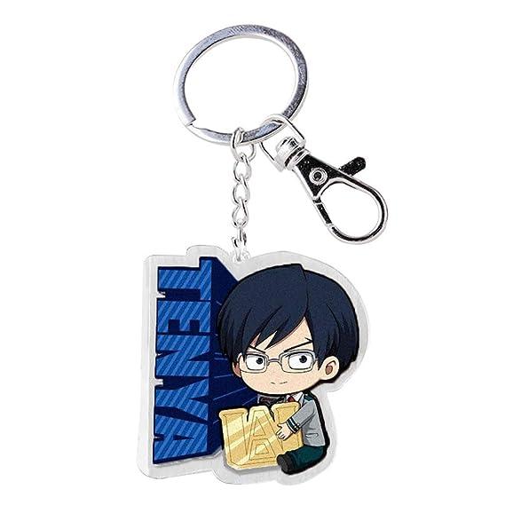 CAR-TOBBY My Hero Academia Llavero de Goma Anime Boku No Hero Academia Keyring For Present(H08)