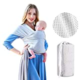 Best Baby Wrap Carriers - Baby Sling Carrier, Soft and Comfortable Stretchy Ba Review