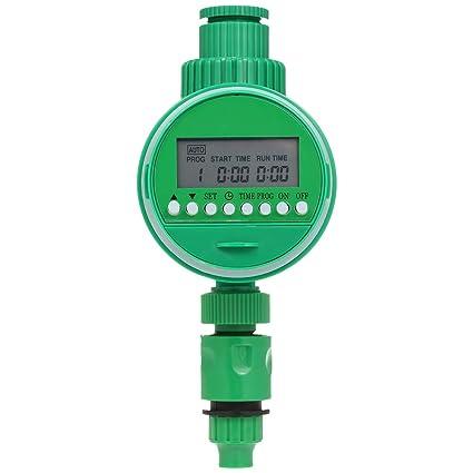 Decdeal Computer Per Irrigazione Tubo Timer Per Irrigazione Programmabile 3 4 1 2 Programmatore Di Irrigazione Digitale Automatico Irrigazione