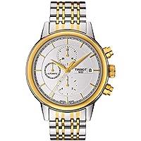 Tissot Carson Two-Tone Automatic Men's Watch (White Dial)