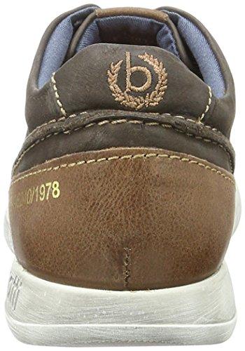 Bugatti Herren K19015 Low-Top Braun (dunkelbraun 610)
