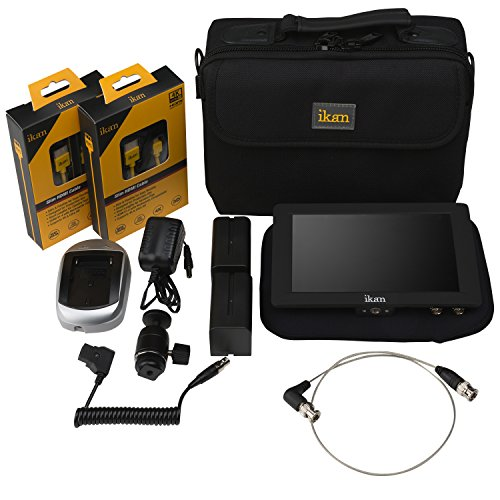 Ikan Saga S7H High Bright Monitor Deluxe Kit for Canon E6 Series Black (S7H-DK-E6)