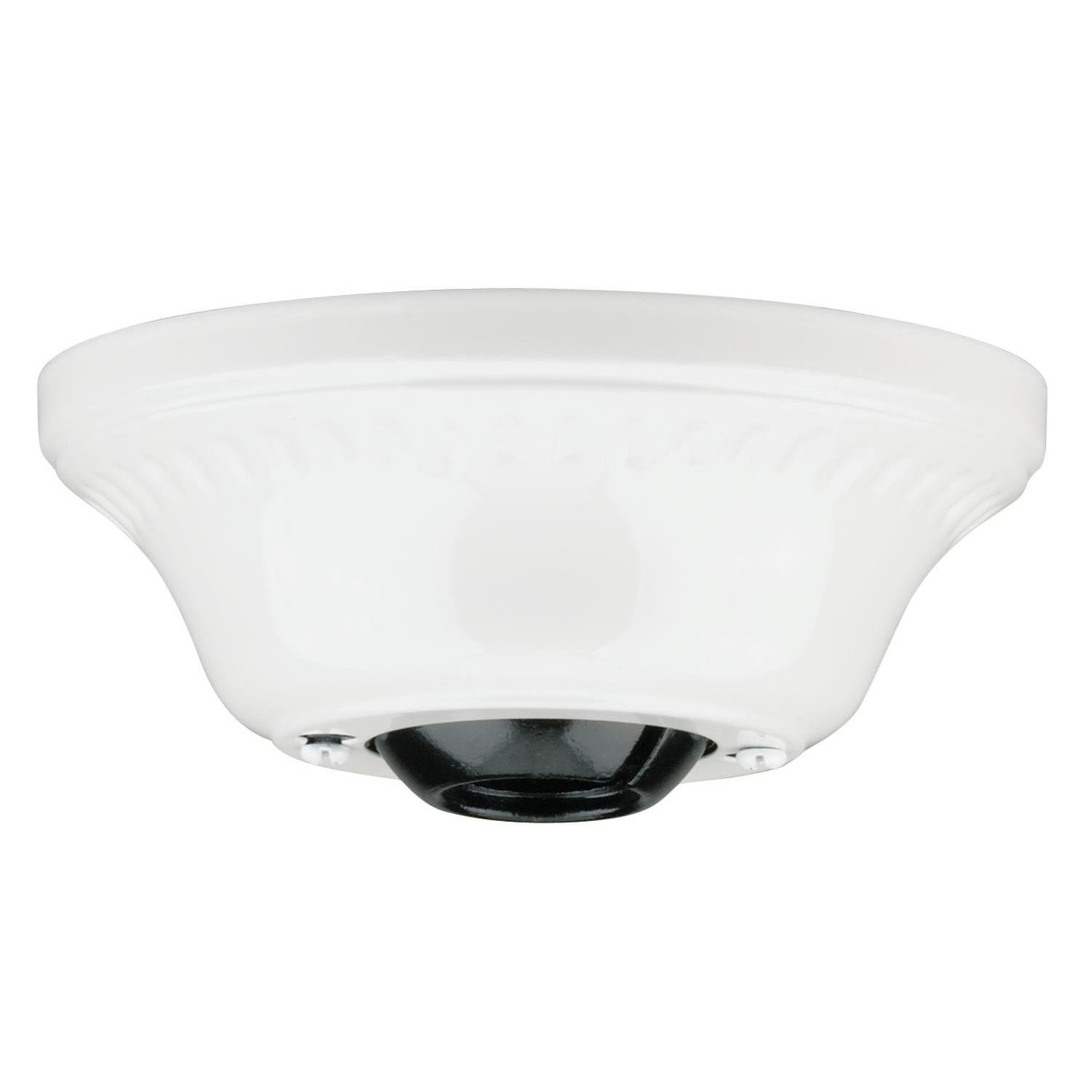 Westinghouse Lighting 77079 Corp 3/4-Inch Ceiling Canopy Kit, White Finish