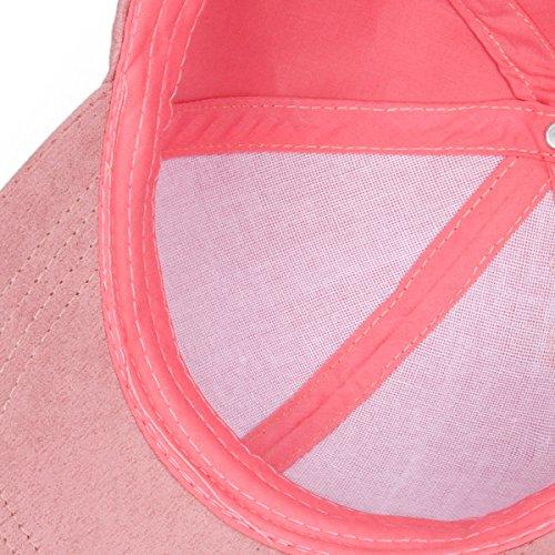 béisbol verde gorras de Rosa Oscuro Cusfull claro Las wqZvpp