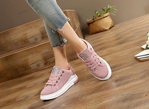 la Junta Deporte Zapatos de Jogging rosa mujer GTVERNH Mujer Verano Zapatos Casuales Correr Zapatos Estudiantes En primavera de Zapatos wpwqAzXv