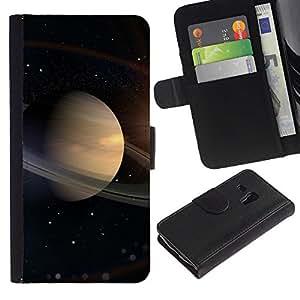 Ihec-Tech / Flip PU Cuero Cover Case para Samsung Galaxy S3 MINI NOT REGULAR! I8190 I8190N - Space Planet Galaxy Stars 16
