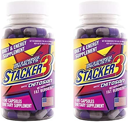 Stacker Metabolizing Chitosan Capsules 100 Count
