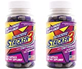 Cheap Stacker 3 Metabolizing Fat Burner with Chitosan, Capsules, 100-Count Bottle (Pack of 2)