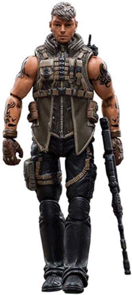 Soldier CF White Wolf Bi Fire Game Military Model Toys Action Figure 4 Inches